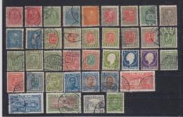 Island Lot 38 Werte  Auf Steckkarte Aus MiNo. 8 - 160 */o - Gebruikt