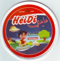 """Algérie - 1  Couvercle De  Fromage Fondu """" Heidi""""16 Portions.. - Fromage"""