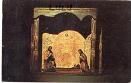 ETATS-UNIS : Museum Of New Mexico : Nativity Group In Wooden Nicho - Etats-Unis