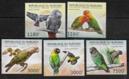 BURUNDI  N° 1726/29  BF 271 * * NON DENTELE Oiseaux Perroquets - Papegaaien, Parkieten