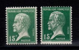 YV 171 N** Pasteur En Clair Et En Foncé Cote 7,40+ Euros - Neufs