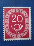 Bund Posthornmarke Mi 130 **  Postfrisch , Einwandfrei - Ungebraucht