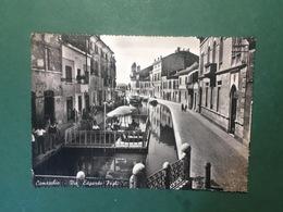 Cartolina Comacchio - Via Edgardo Fogli - 1958 - Ferrara