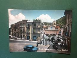 Cartolina Lauria - Potenza - Piazza Viceconti - 1961 - Potenza