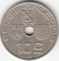 Leopold III  10 Centimes  (NL - FR)  1939 - 02. 10 Centesimi