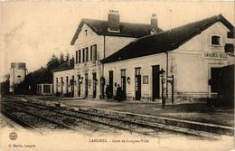 CPA LANGRES - Gare De LANGRES-Ville (368768) - Langres