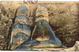 ETATS-UNIS : Twin Domes Carlsbad Caverns National Park New Mexico - Etats-Unis