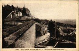 CPA LANGRES (Haute-MARNE) - Le Quartier Des Sous Mure (430847) - Langres