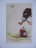 Germaine BOURET Mange Des Carottes ça Rend Aimable ... Âne ATTENTION: MANQUE LE PERSONNAGE - Bouret, Germaine