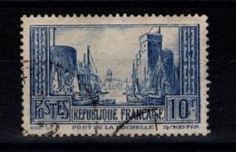 Variete - YV 261 Oblitere Avec Tour Du Haut Du O De Poste Cassé - Variedades Y Curiosidades