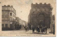 62 ARRAS Cpa La Fontaine Neptune Et La Rue Saint Aubert - Arras