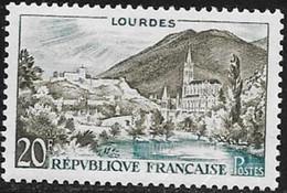 N° 1150   FRANCE  - NEUF  -  LOURDES  -  1958 - Francia
