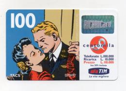 "Ricarica Telefonica "" TIM "" Da Lire 100.000 - Usata - Validità 2.2001 - (FDC17611) - Schede GSM, Prepagate & Ricariche"