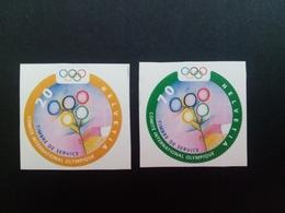 SCHWEIZ INTERNATIONALES OLYMPISCHES KOMITEE (IOC) MI-NR. 1-2 POSTFRISCH(MINT) - Verano 2000: Sydney