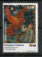 RUSSIE - ANDORRA. Comunitat Russa Andorra.2019.El Pájaro De Fuego,l'Oiseau De Feu. (conte Russe) Un Timbre Neuf ** - Emissions Communes