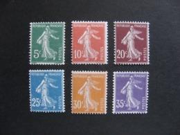 TB Série N° 137 Au N° 142, Neufs XX. - France