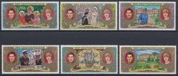 Zentralafrik. Republik, Michel Nr. 758-763, Postfrisch/MNH - Zentralafrik. Republik