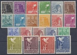 Gemeinschaftsausgaben, MiNr. 943-962, Postfrisch / MNH - American,British And Russian Zone