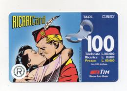 "Ricarica Telefonica "" TIM "" Da Lire 100.000 - Usata - Validità 12.1999 - (FDC17612) - Schede GSM, Prepagate & Ricariche"