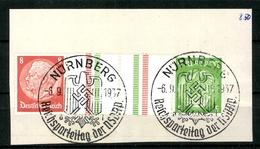 Deutsches Reich, MiNr. KZ 21.1, Briefstück - Zusammendrucke