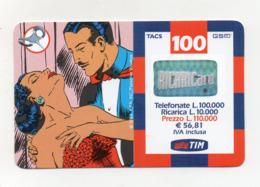 "Ricarica Telefonica "" TIM "" Da Lire 100.000 - Usata - Validità 7.2002 - (FDC17613) - Schede GSM, Prepagate & Ricariche"