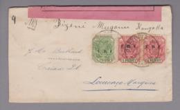 Südafrika 1901-04-10 Pretoria Zensurbrief Nach Louenco Margues (Spuren) 2 1/2 Penny - África Del Sur (...-1961)