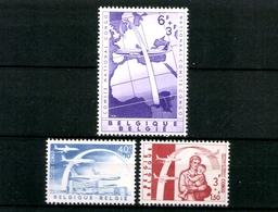 Belgien, MiNr. 1206-1208, Postfrisch / MNH - Belgien
