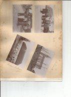 Lot De 4 Photos Belmont Jura - Lieux