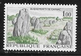 N° 1440  FRANCE  -  NEUF  -  ALIGNEMENT DE CARNAC  -  1965 - Frankreich