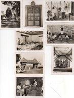 CAMEROUN - 8 Photos- FOUMBAN - Musée Bamoum - Artisanat Bamoum - (102366) - Lieux