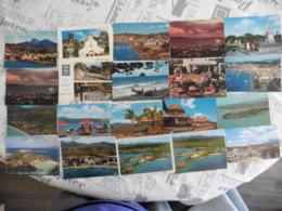 LOT  DE 76  CARTES  POSTALES  NEUVES   DE  LA  MARTINIQUE - Cartes Postales