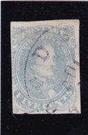 Emission Générale 1861/62 .N°2 JEFFERSON 5 C Bleu (Très Léger Amaincissement Su Rle Haut Du Timbre) - 1861-65 Etats Confédérés