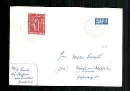 Deutschland (BRD), MiNr. 218 Ecke Links Unten, Bedarfsbrief - BRD