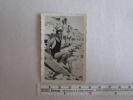 Photo Photos Photographie Plage Maillot De Bains Homme - Personnes Anonymes