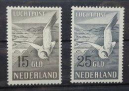 NEDERLAND   Luchtpost 1951   Lp 12 -13   Postfris **   CW  600,00 - Luftpost