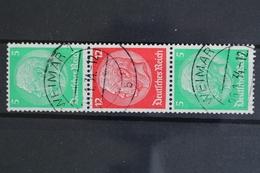 Deutsches Reich, MiNr. S 107, Gestempelt - Zusammendrucke