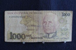 91 / Brésil, Banco Central Do Brasil, 1000  Cruzeiros   /  N° A 1891052389 A - Brésil