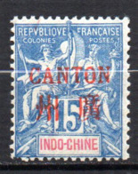Col17  Colonie Canton N° 7 Neuf X MH Cote 8,00€ - Nuovi