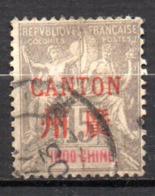 Col17  Colonie Canton N° 8 Oblitéré Cote 9,00€ - Oblitérés
