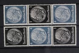 Deutsches Reich, MiNr. S 172 + S 174, Postfrisch / MNH - Zusammendrucke