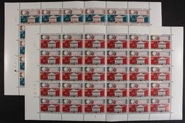 Belgien, MiNr. 1251-1252, 30er Bögen, Postfrisch / MNH - Belgien