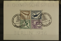 Deutsches Reich, MiNr. Block 5, SST Fahrbares Postamt - Ohne Zuordnung