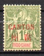 Col17  Colonie Canton N° 15 Luxe Neuf XX MNH Cote 120,00€ - Oblitérés