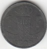 Leopold III  1 Franc   (NL - FR)   1945 - 04. 1 Franco