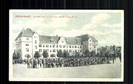 Infanterie Regiment 27, Kaserne Der 1. U. 2. Kompanie, Halberstadt - Deutschland
