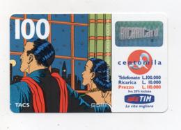 "Ricarica Telefonica "" TIM "" Da Lire 100.000 - Usata - Validità 11.2000 - (FDC17614) - Schede GSM, Prepagate & Ricariche"