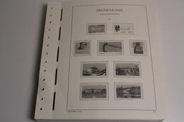 Leuchtturm, Deutschland (BRD) 2001-2014, SF-System - Pre-printed Pages