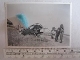 Photo Photos Photographie Accident Automobile Voiture à Identifier - Automobiles