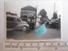 Photo Photos Photographie Accident Automobile Voiture Camion à Identifier - Automobiles