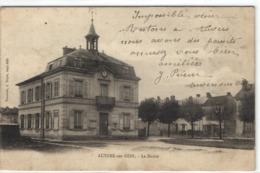 """Auvers Sur Oise - La Mairie  """"pionnière"""" - Auvers Sur Oise"""